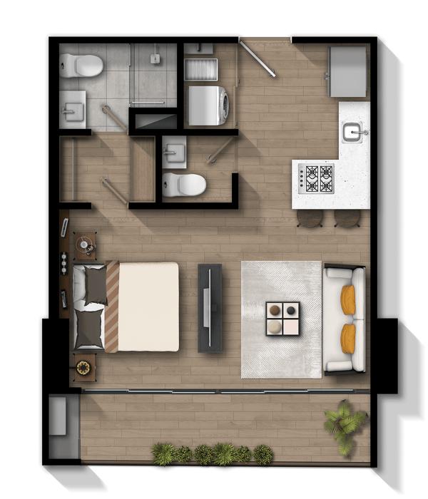 Apartamento A1