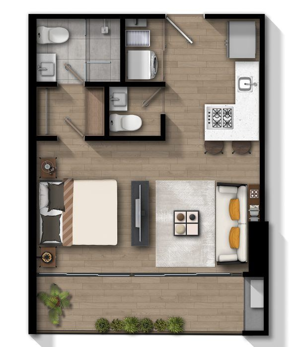 Apartamento A2 - 1