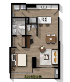 Apartamento C - Norte
