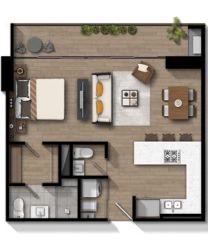 Apartamento Corriente 1