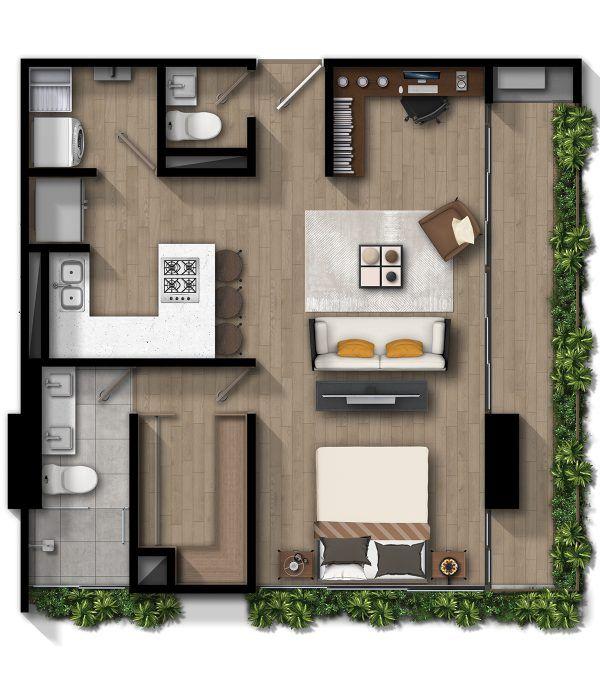Apartamento C - Sur