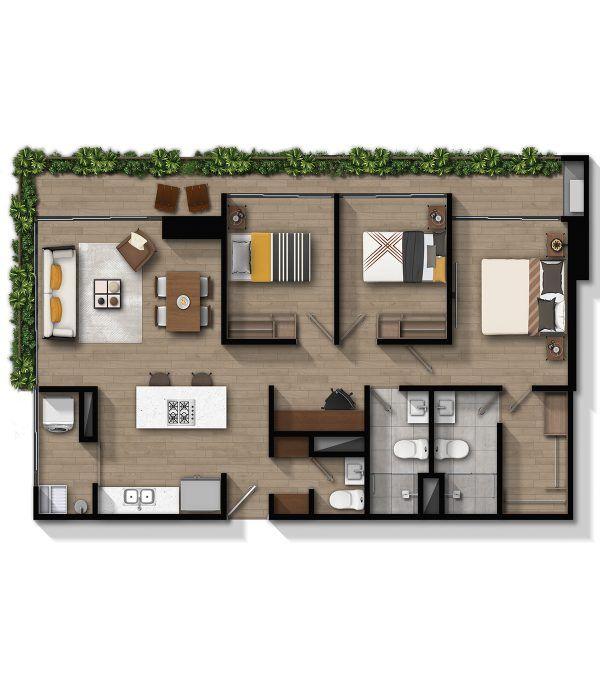 Apartamento F