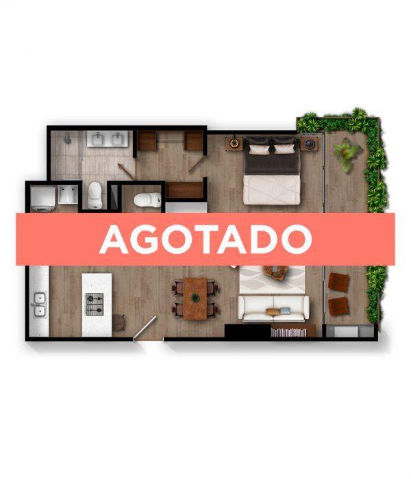 Apartamento B1 - Infinita