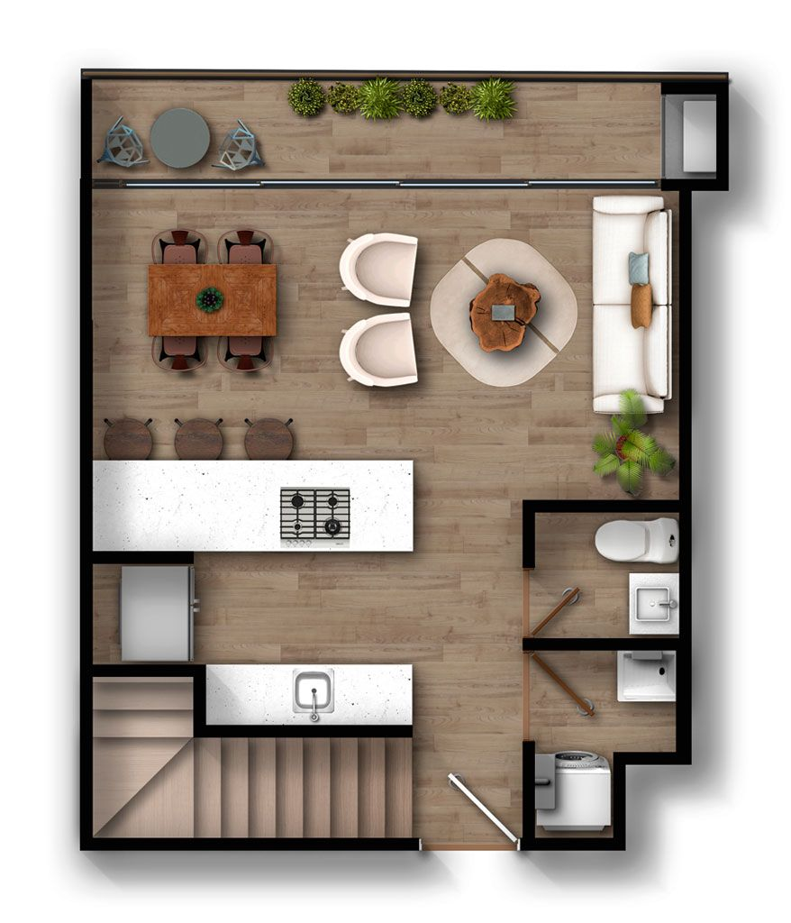 Apartamento F2 Infinita