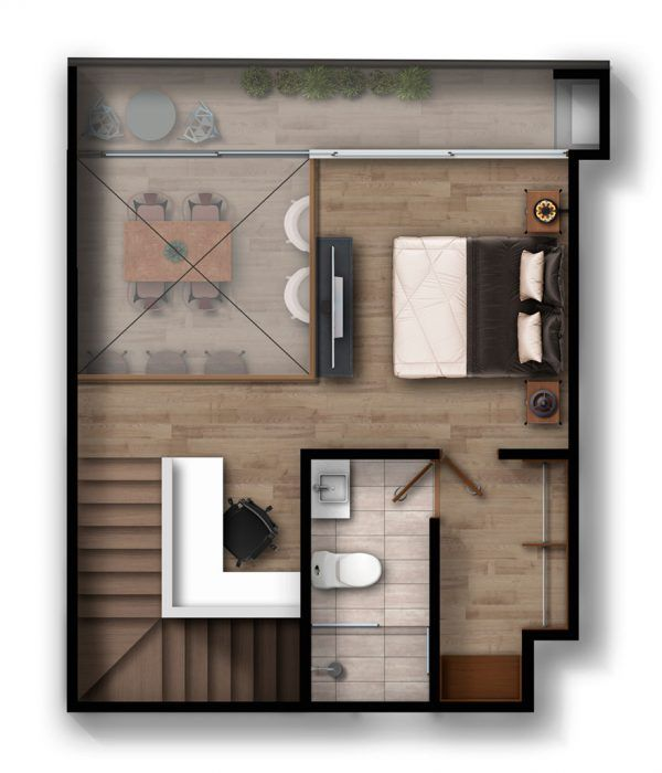 Apartamento F2 - Infinita