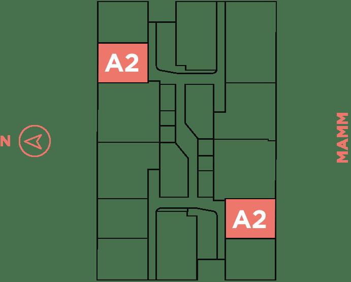 Visual - Aparamento A2 - Infinita