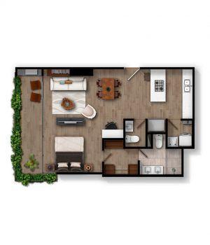Apartamento B2 - Infinita