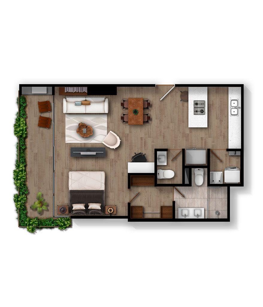Apartamento B2            Infinita