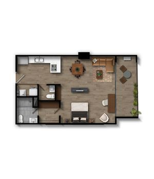 Apartamento 1 Infinita (Plataforma)
