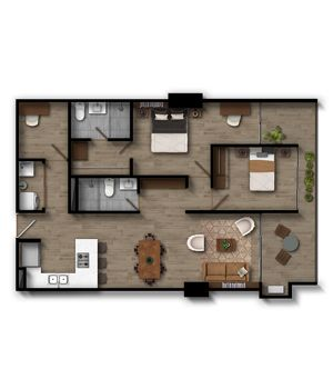 Apartamento 2.1 Infinita (Plataforma)