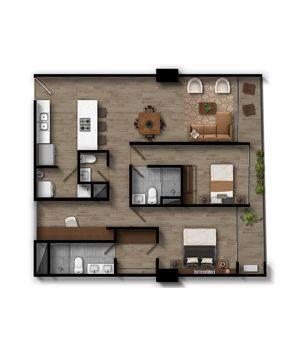 Apartamento 3 Infinita (Plataforma)