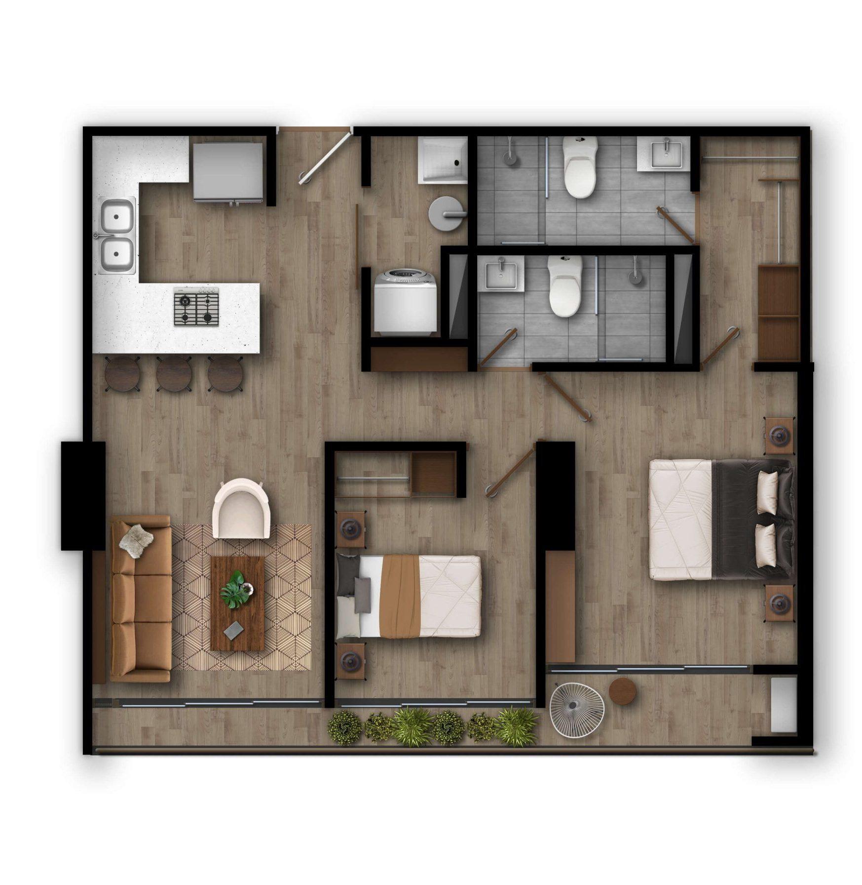 Apartamento H1 Inspira